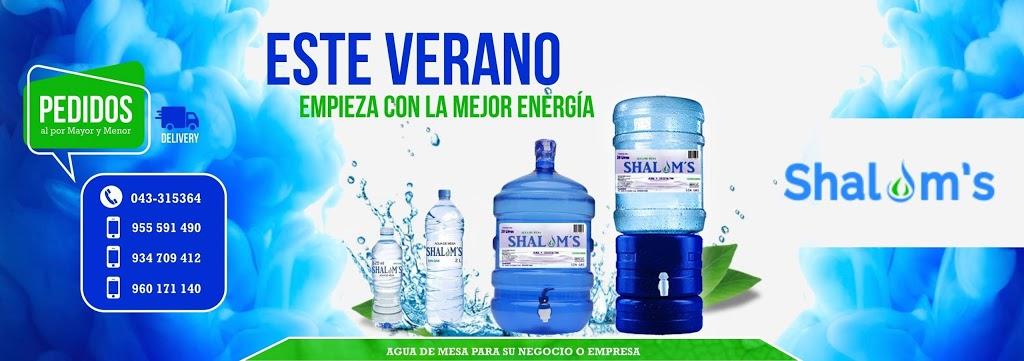 SHALOM – Agua de mesa en Chimbote